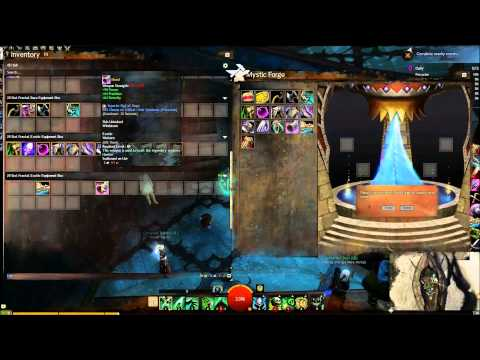 Guild Wars 2: Throwing 232 random exotics into the Mystic Forge