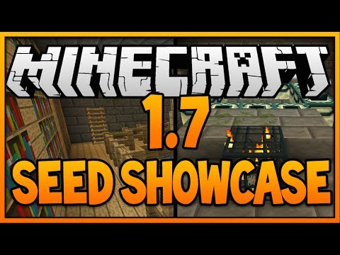 Minecraft Seeds: STRONGHOLD AT SPAWN SEED! (Minecraft 1.8) (Minecraft 1.7.10)