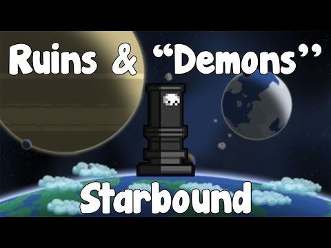 Ruined Town & Winged ''Demons'' - Starbound Guide - Gullofdoom - Guide/Tutorial - BETA