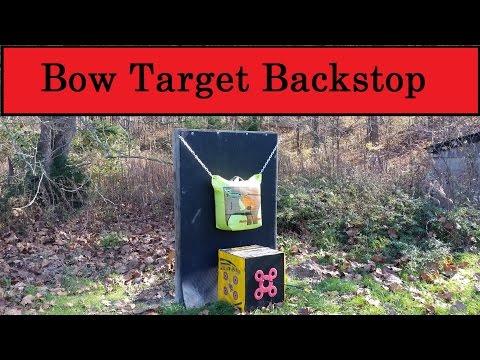 Bow Target Backstop