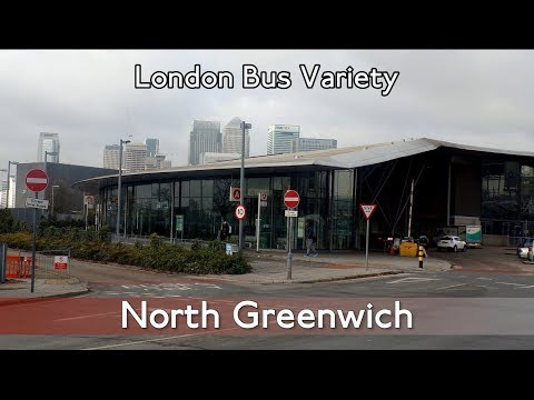 London Bus Variety ► North Greenwich Bus Station 29/3/2018