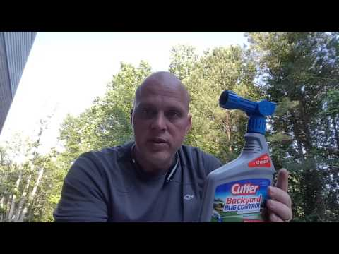 Mosquito Control Spray - Cutter Backyard Bug Control