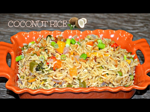 COCONUT RICE | NIGERIAN COCONUT RICE RECIPE