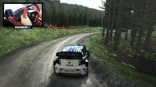 Rally Wales GB - Polo WRC (DiRT Rally)