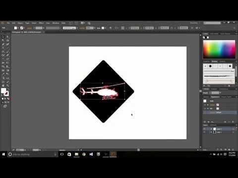 Making a pictogram in Adobe Illustrator