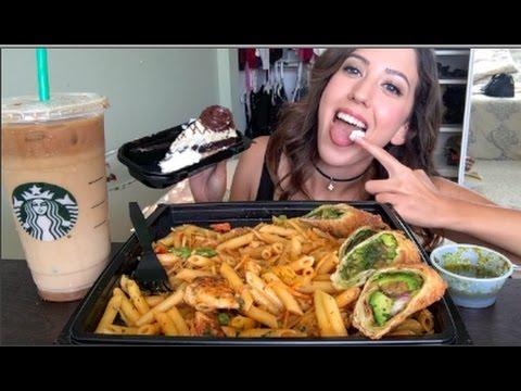 CHEESECAKE FACTORY MUKBANG! (Eating Show)
