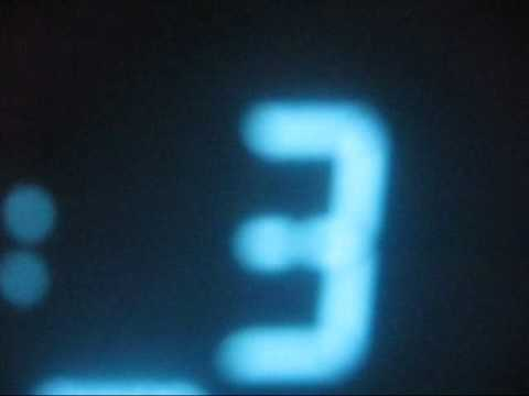 Ten second Timer Countdown in Blue