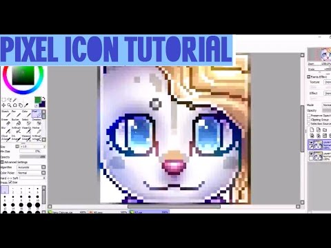 Pixel Icon Tutorial! (for deviantArt)