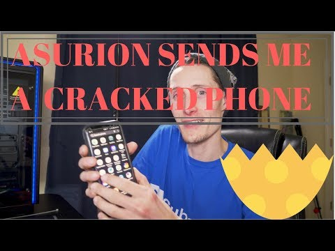 Asurion Sends Me a Damaged Phone With a Cracked Screen! Part 1