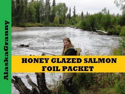 Honey Glazed Salmon In Foil Packets
