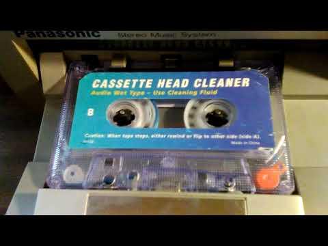 Wet Or Dry Cassette Tape Head Cleaner