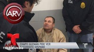 El Chapo Guzmán pide sacerdote hispano | Al Rojo Vivo | Telemundo