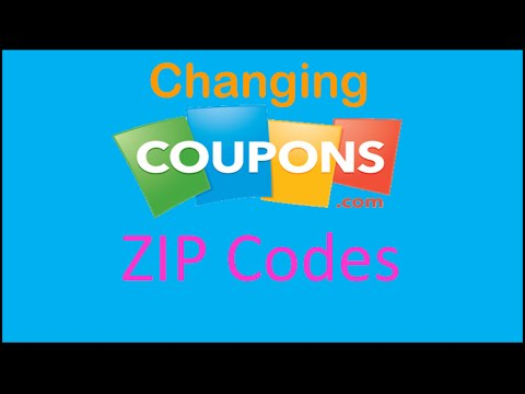 How to Set Coupons.com Zip Code When Printing Coupons