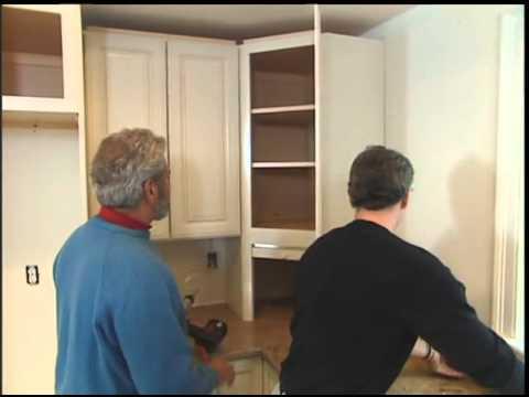 Installing Corner Cabinets