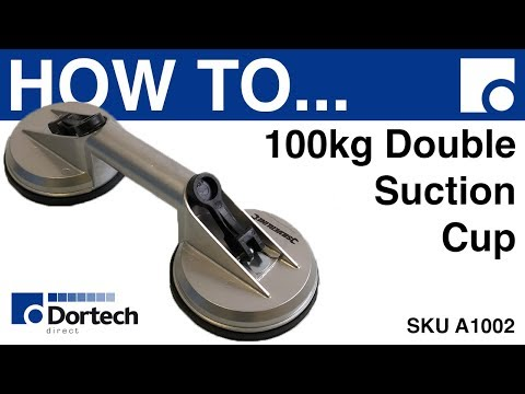 HOW TO - 100KG DOUBLE SUCTION CUP