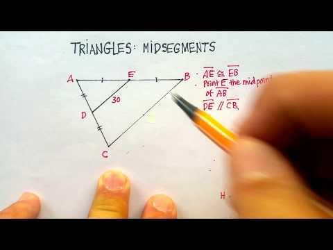 Triangles: Midsegments (Part 1)