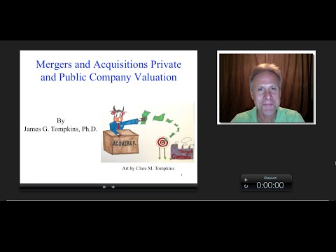 Mergers and Acquisitions Public and Private Company Valuation, James Tompkins