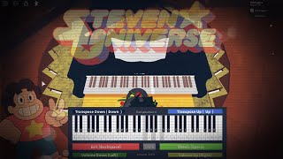 Roblox Playing Steven Universe Theme Song On Rgt Piano