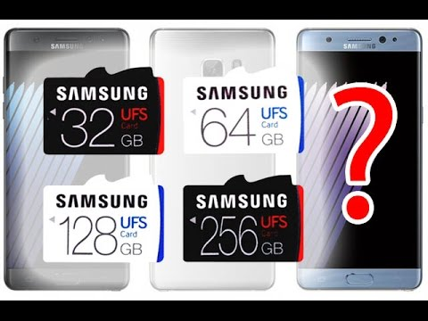 World's First UFS Memory Card of Samsung Launched | 5X faster than MicroSD