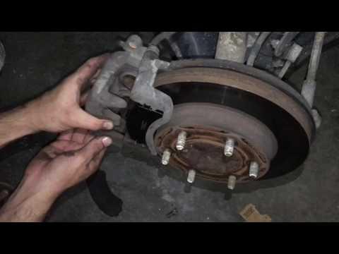 How to Change Brake Pads Rodeo 2003 Isuzu DIY Truck Repairs Replacing New