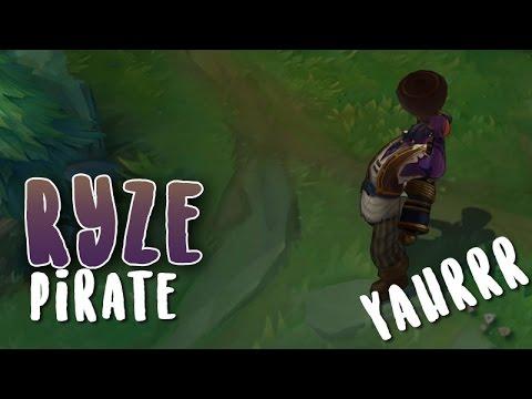 Ryze Pirate (Refonte) Aperçu Skin League of Legends