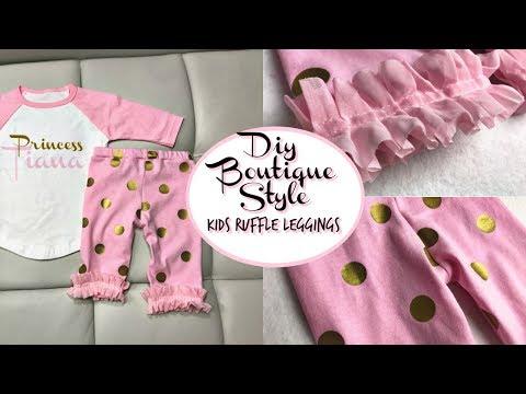 DIY BOUTIQUE STYLE BABY LEGGINGS