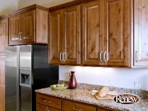Showplace Renew cabinet refacing creates comfortable character