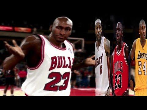 NBA: The Return Of Michael Jordan In 2013 | Can Michael Jordan Return at Age 50!? MJ vs LBJ Nba 2k13