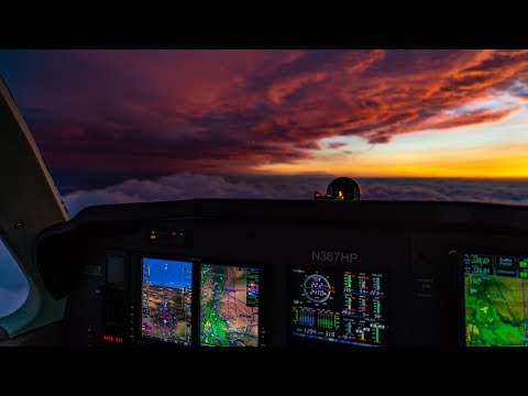 Thunderstorms & No Autopilot! Flying Single Pilot IFR
