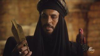 "Once Upon A Time 6x05 Jasmine Aladdin Jafar Red Bird & Scissors ""Street Rats"""