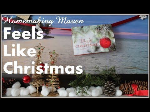 Christmas Decorations | Decorating quickly, easily and inexpensively | Homemaking Maven