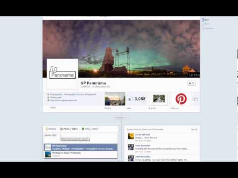 Clickable Photo Credit on Facebook