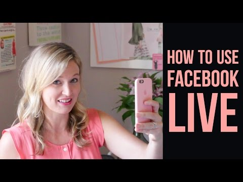 How to Feel Comfortable and Get Over Your Fears on a Facebook Live