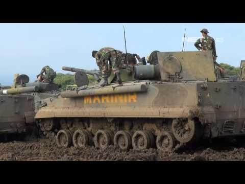 NET5 - Uji Coba Tank Amfibi Terbaru TNI AL