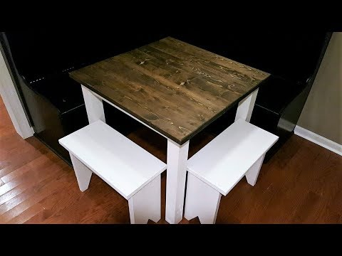 Small Farmhouse Table Build - DIY