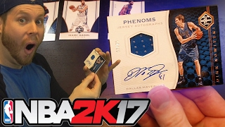 IRL PACK GOD! NBA 2K17 MYTEAM DRAFT! AUTOGRAPHED CARDS!