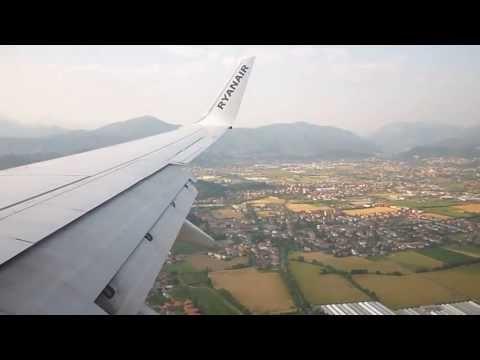 [HD] | RYANAIR | Boeing 737-8AS | Landing Milan Bergamo Airport | LIME | 22/06/2013