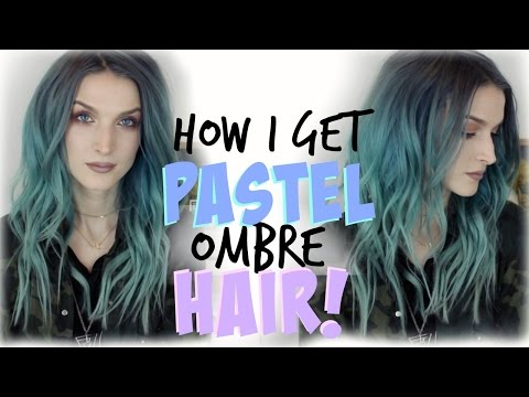 How I Get Pastel Ombre Hair!