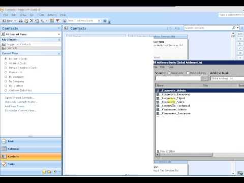 How to manage members distribution group in Outlook 2010 2013