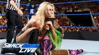 Charlotte Flair vs. Naomi: SmackDown LIVE, April 18, 2017