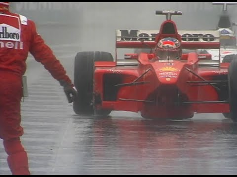 'Are you trying to f---ing kill me?' - Schumacher v. Coulthard, Spa 1998