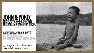 Happy Xmas (War Is Over) John & Yoko Plastic Ono Band Harlem Community Choir (Official Music Video)