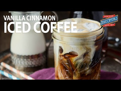 How to Make Vanilla Cinnamon Iced Coffee