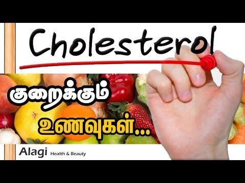 Cholesterol reducing foods in Tamil | Tamil Health Tips