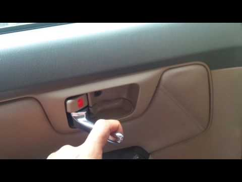 How to unlock a 'Child lock' in car