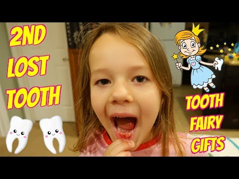 LOST TOOTH!!! Mom Pulls Out Tooth + The Tooth Fairy Brings Money and Toys