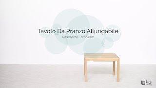 Tavolo Allungabile Lg Lesmo.Channel Folding Table