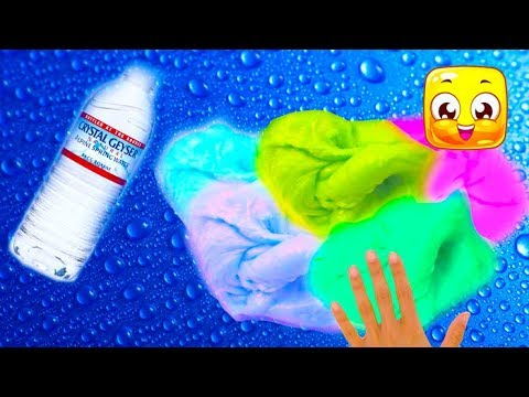 Water Slime! Testing No Glue or Borax Slime Recipes! 5 Ways How To Make Slime That Actually Works!