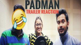 PADMAN Official Trailer | Akshay Kumar | Sonam Kapoor | Radhika Apte | reaction/ Jeet/ Rishi/ Shreya
