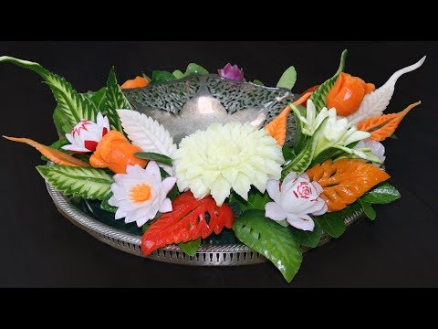 Simple Fruit And Vegetable Carving